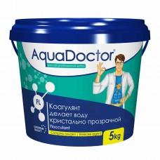 Химия для бассейна Коагулирующее средство в гранулах AquaDoctor FL, 5 кг