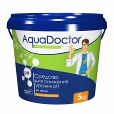 Химия для бассейна Средство для снижения уровня pH AquaDoctor pH Minus, 5 кг