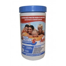 Двухслойная таблетка – быстрый и медленный хлор 5 кг, HTH MAXITAB ACTION 6 EASY