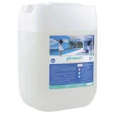 Жидкий рН минус Aqualeon, канистра 35 кг (30л)