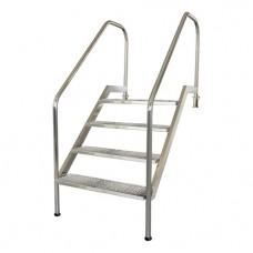 Лестница Легкий подъем с 6 ступ., AISI-316