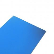 Крепежная жесть в листах, цвет синий, размер 2000x1000 мм