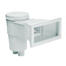 Скиммер 15 л. с широким раструбом, круглая крышка, ABS-пластик, для бетонных бассейнов