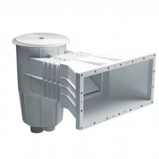 Скиммер 15 л. с широким раструбом, для пленочных бассейнов, круглая крышка, ABS-пластик