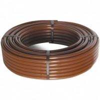 Капельная труба Cepex D16 2,2 л/ч, шаг между капельницами 0,35 м, коричневая, длина 100 м