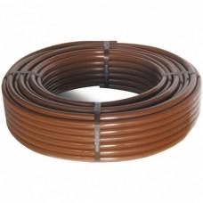 Капельная труба Cepex с компенсацией давления D16 2,2 л/ч, шаг между капельницами 0,35 м, коричневая, длина 100 м