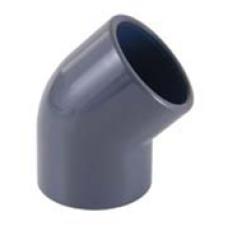 Отвод 45º Idrania (клеевой), 90 мм