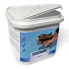 Химия для бассейна Трихлор, таблетки 250 г., 5 кг