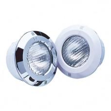 """Светильник галогенный """"ST"""" с оправой ABS-пластик белый, с кабелем, с нишей, 300 Вт, для бетонного бассейна"""